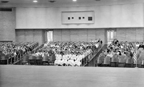 Auditorium of Lindsborg's second High School